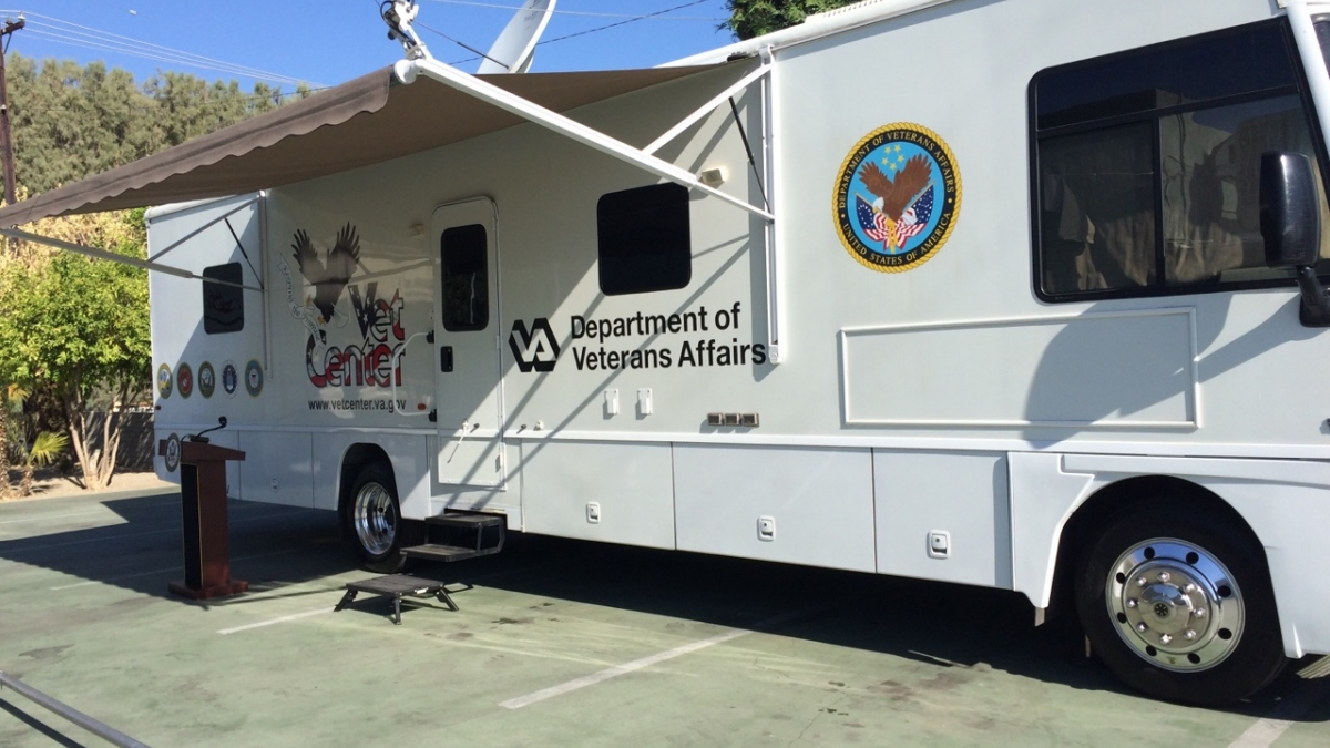 Image of a mobile vet vehicle